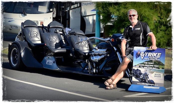 V8 Trike Tours - Tauranga / Mount Maunganui / Bay of Plenty - logo