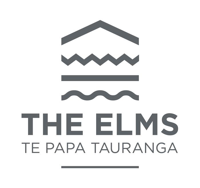 The Elms   Te Papa, Tauranga - logo