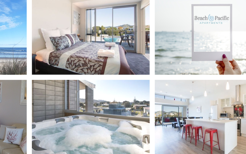 Self contained apartments in the hear of Waihi Beach Village