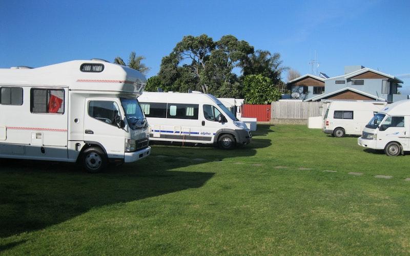 Powered Sites for tents, caravans or Campervans