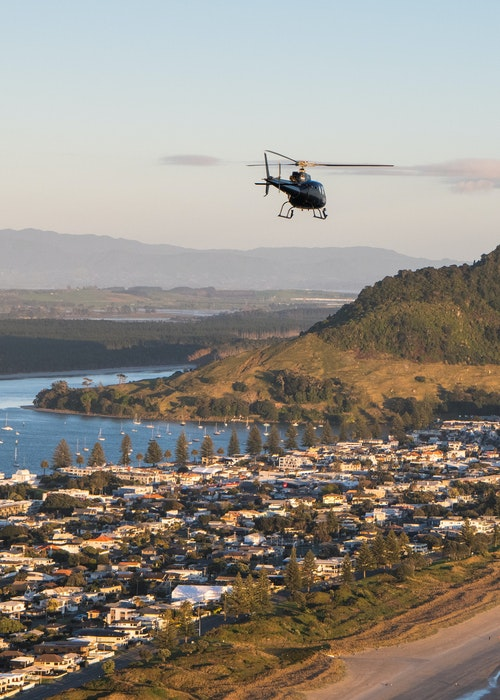 Papamoa Hills Scenic Flight - Aerius Helicopters