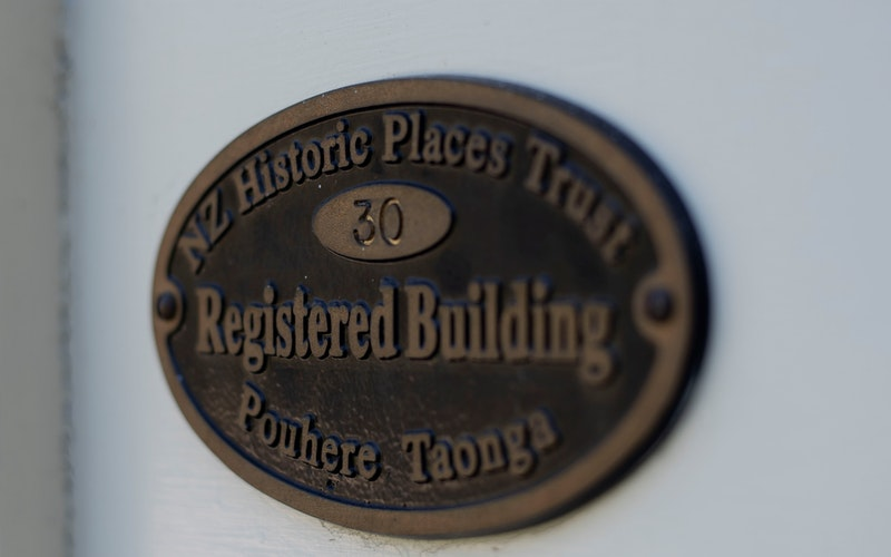 Registered Building - NZ Historic Places Trust