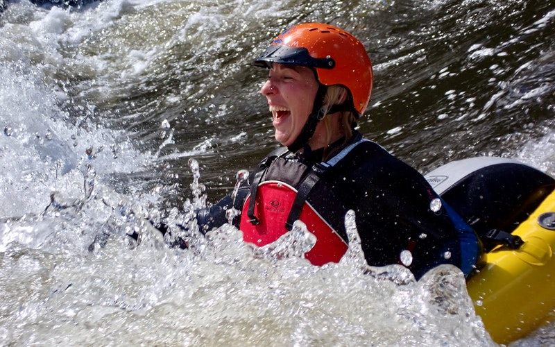 All smiles on the 'Wairoa Wave'.