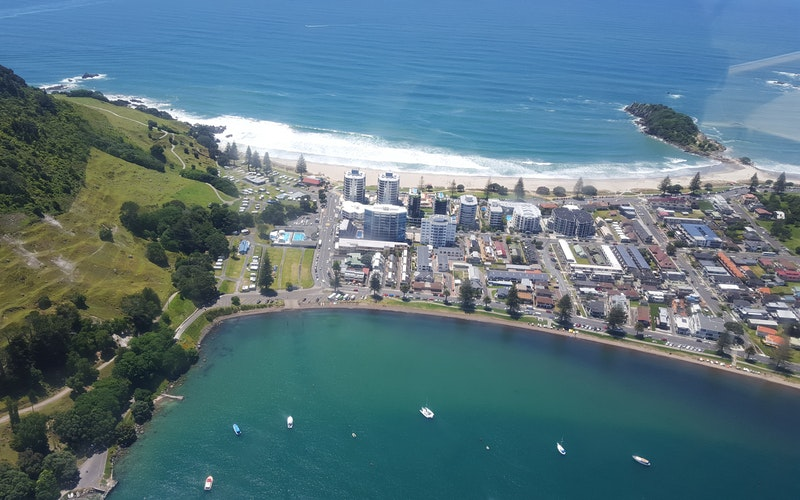 Beach and hot pools of Mount Maunganui just 10 minutes from the motel