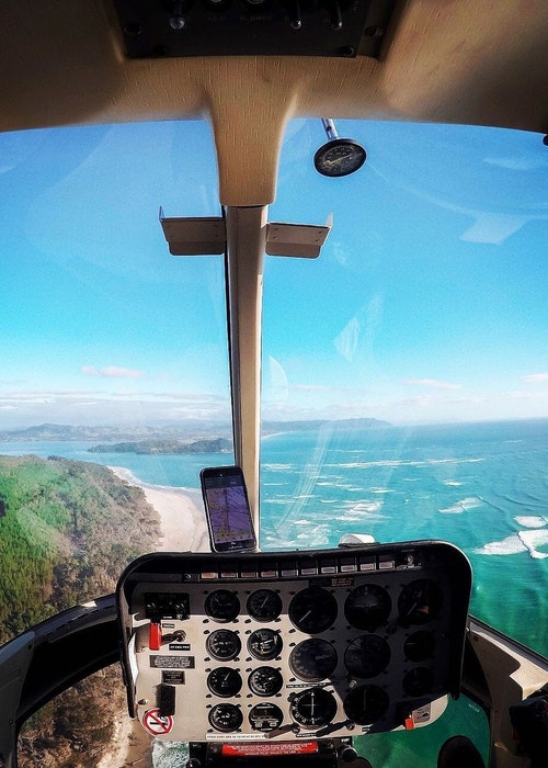 Waihi Beach Heli lunch/brunch