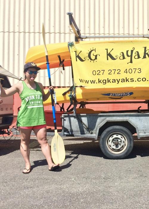 Kayak hire - KG Kayaks