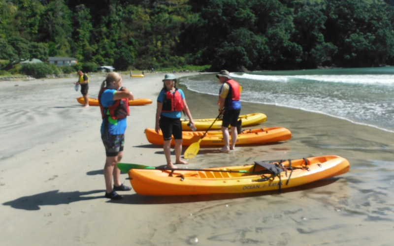 start/finish point for Coastal Adventure Guided Tour, Ohope Beach