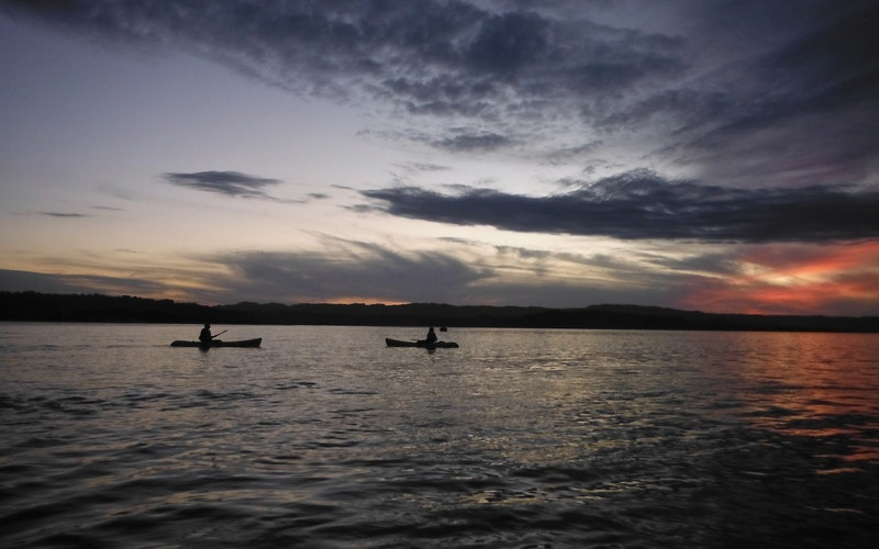 Ohiwa Harbour sunset