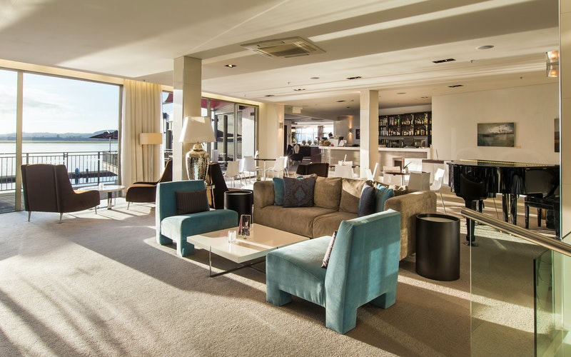 Explore the cocktail menu, enjoy a lavish high tea or simply stop and take in the views.