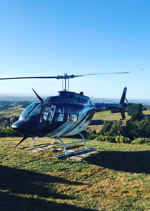 Tree Tops Luxury lunch Helicopter package