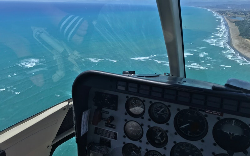 Pauanui sandy lunch and swim Helicopter package