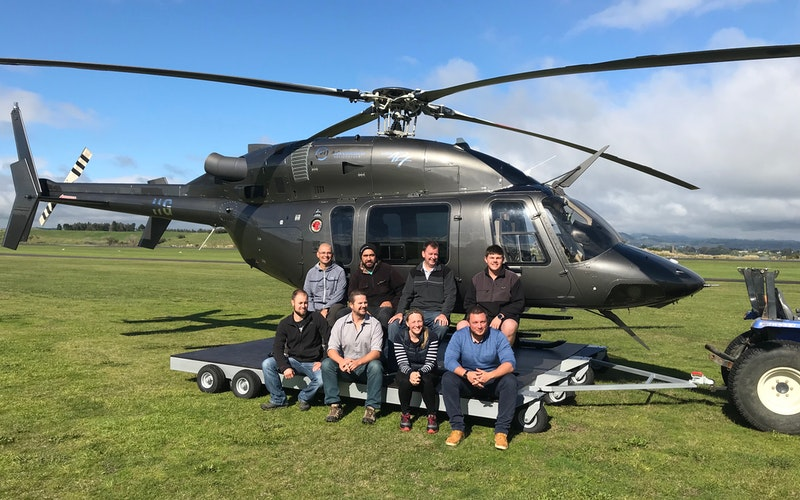 Waitomo Caves and Hobbiton Combo Helicopter Package