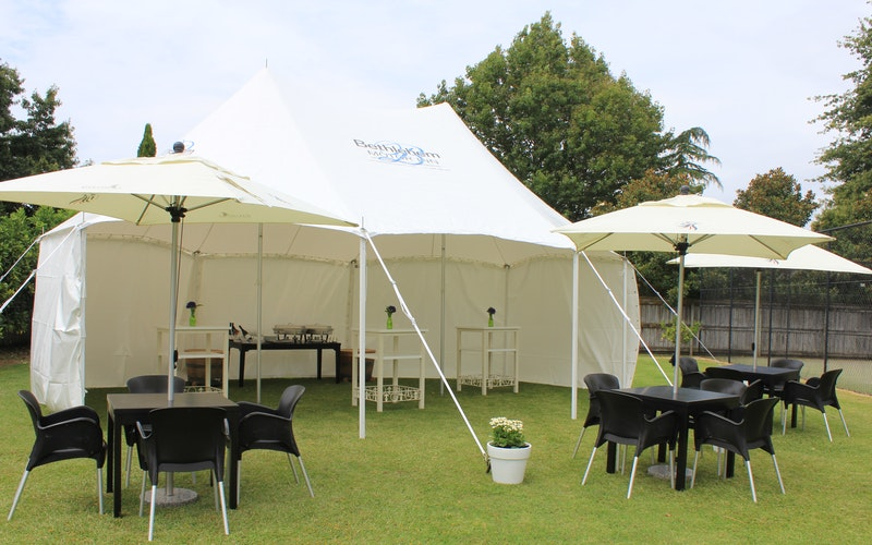 Marquee for hire available