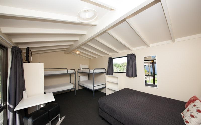 Papamoa Beach Resort Holiday Park & Motels. Basic Cabin