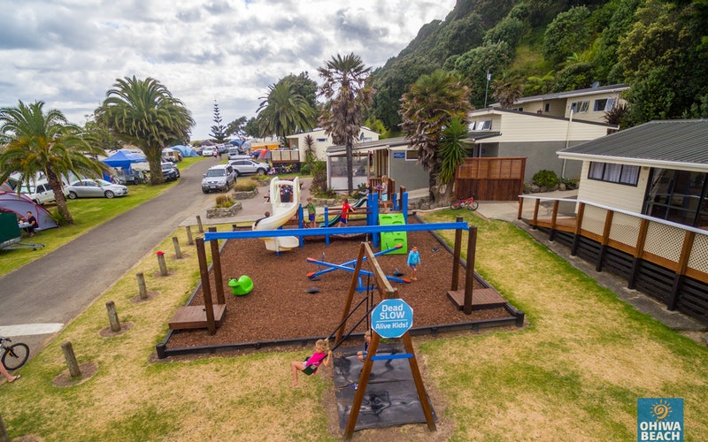 Playground Ohiwa Beach Holiday Park
