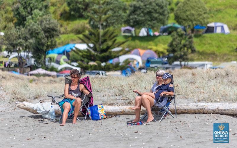 Ohiwa Beach Just chilling!