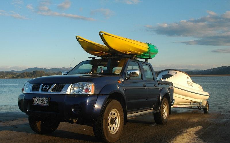 Boat and kayak