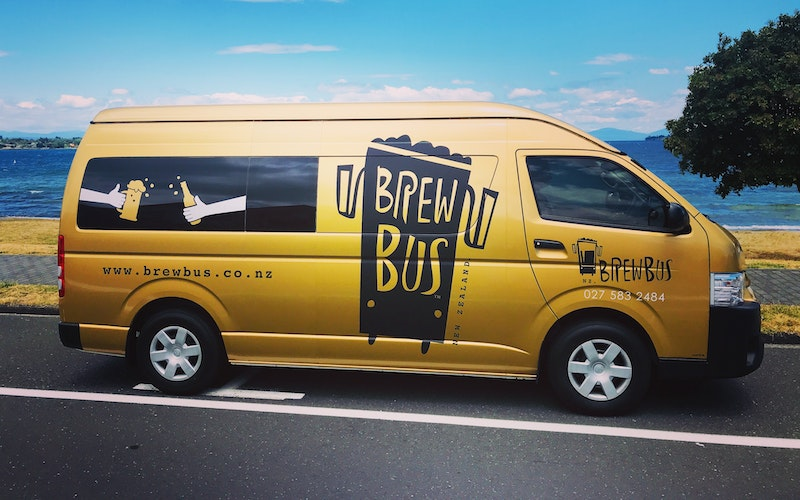 Travel in style in Brewbus