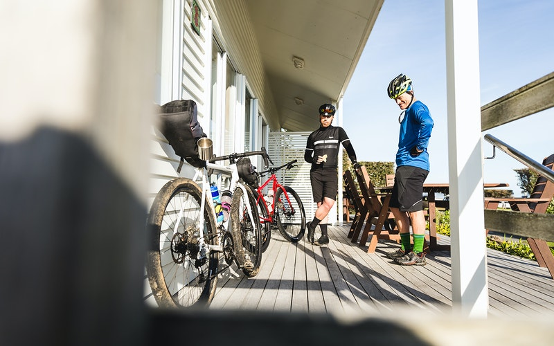 Bike the easy Ohiwa harbourside trail or Motu trails