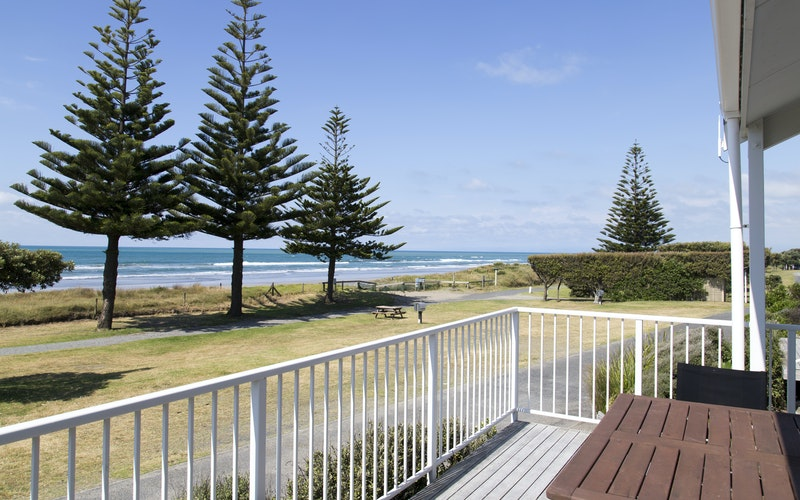 View from beachfront apartment