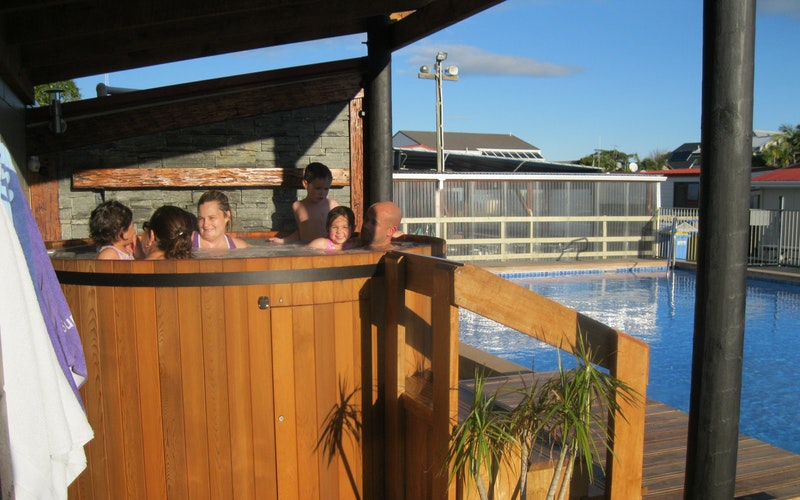 Warm up in our Hot Tub
