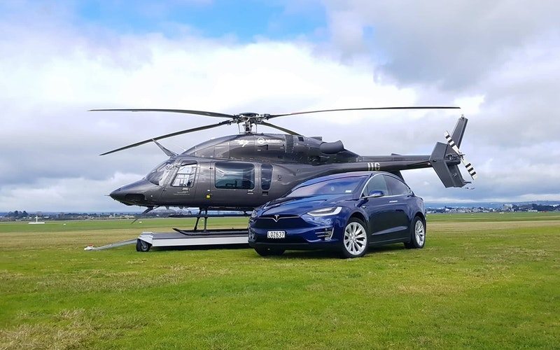 Carbon Neutral Scenic Helicopter Flight Package
